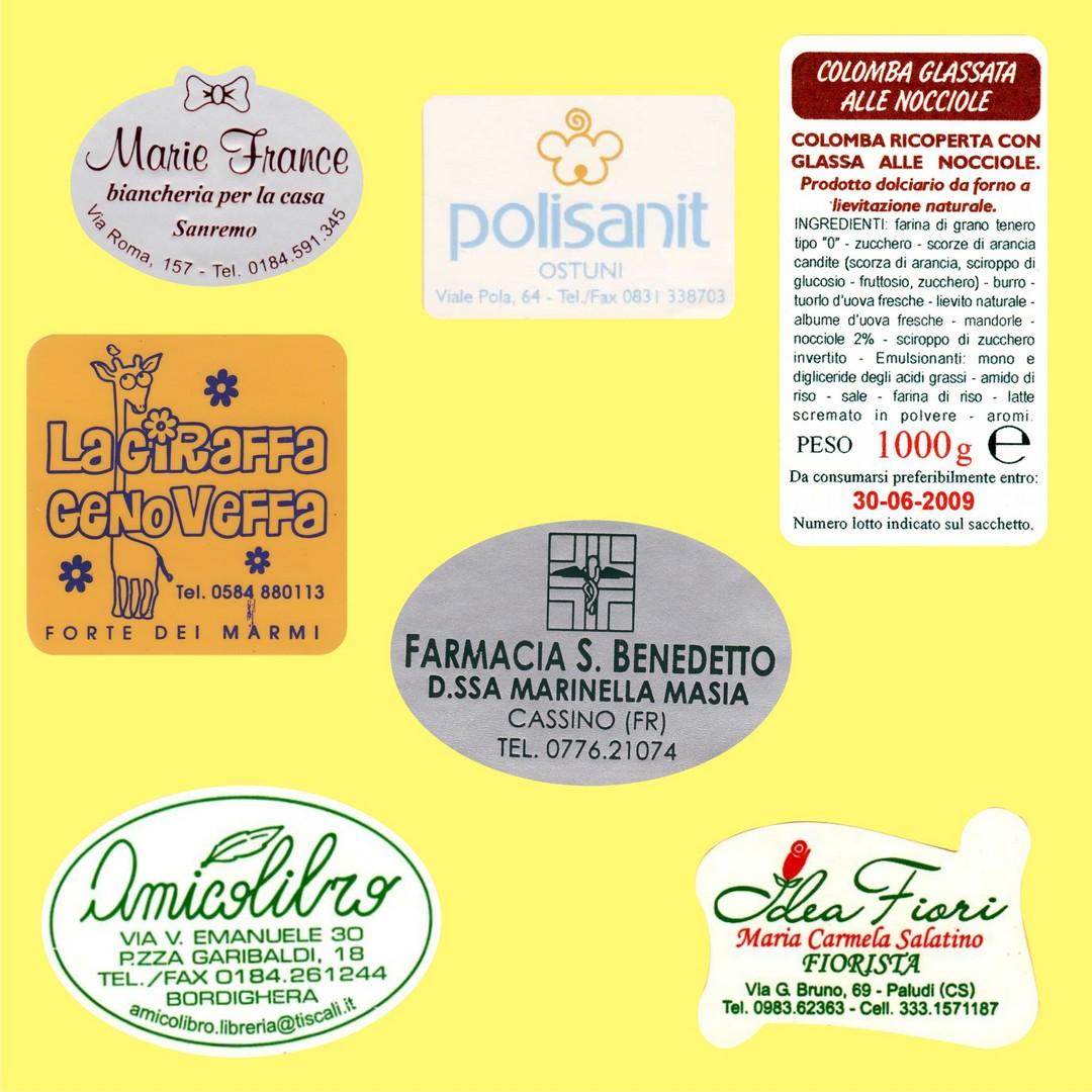 Favorito Prodotti - ARES Etichette WX02